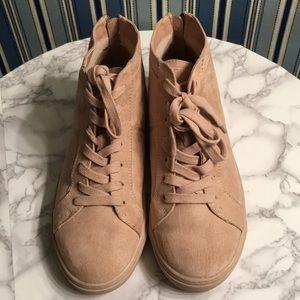 DV by Dolce Vita blush high top sneaker size 10